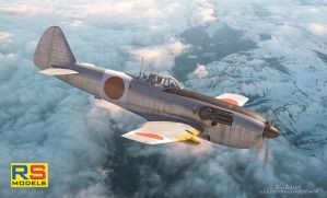 RS-Models :Ki-87 prototype box art by rOEN911