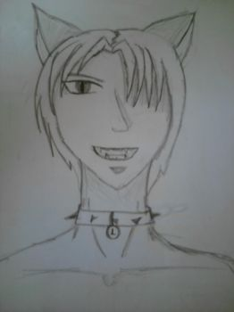 anime catboy by Hachi16