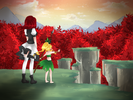 Leaves of Crimson by watermelon-clock