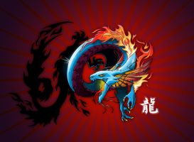 Year of the Dragon by gyrfalcon65