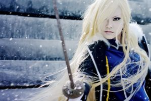 Olivier Mira Armstrong by Tominaga-Sei