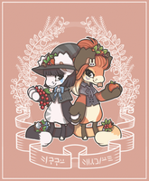 BB ADVENT: Apples and Berries by quartz-witch