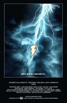 'Shazam!: The Movie' Teaser Poster by SuperDude001