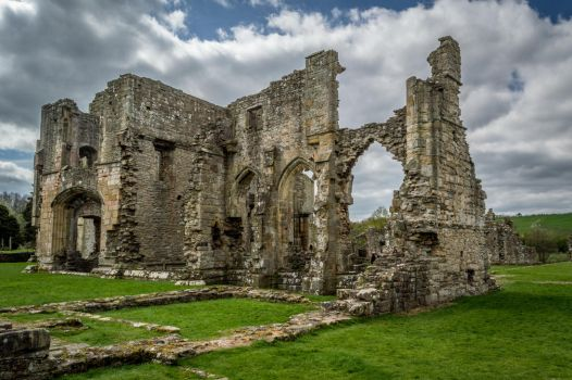 Easby Abbey. by Princess-Amy