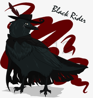 Black Rider by The-Ravens-Of-Moraea