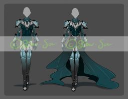Clothing Double Set Adopt [SOLD] by JxW-SpiralofChaos