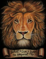 Lion of Judah by brailynne