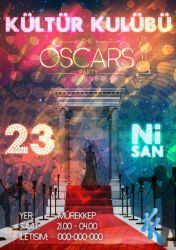 The Oscars Party Poster by JeasrpPs
