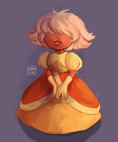 Padparadscha by shiraline