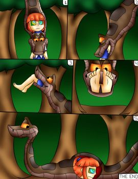 Kaa And Arle Comic 4 by jerrydestrtoyer