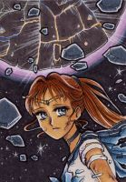 ACEO #142: Sailor Krypton by MTToto