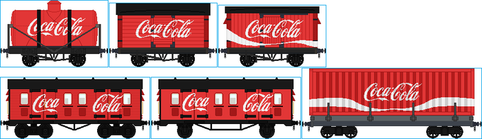 Coca-Cola Trucks by Galaxy-Afro