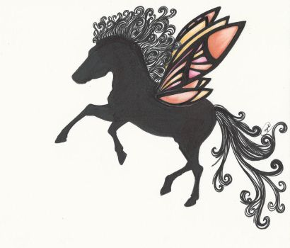 Butterfly Winged by NickiDoodles