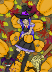 Spring the Witch by EViL-NiGHTS