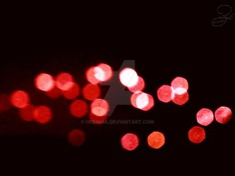 Red Bokeh by Oceniaa
