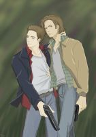 Winchester Brothers by SilasSamle