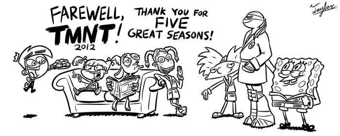 Sketch: Leo Joins the Five Seasons Club by Coonfoot