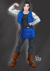 Android 18 Lin by Roe by vince3