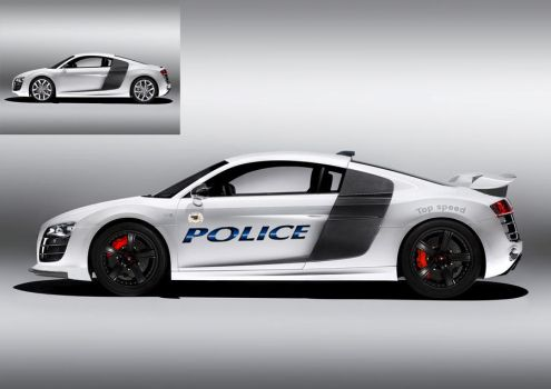Virtual Tuning: R8 Police by Warbaaz1411