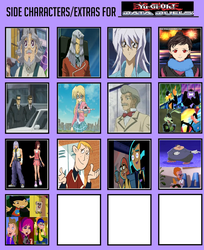 Side Characters for Yu-Gi-Oh! Data Duels by MarioFanProductions