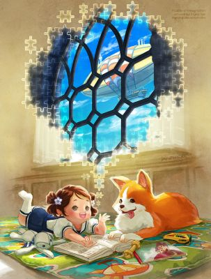 Puzzles of Imagination by IngridTan