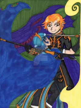 Prince Marth and Camus The Sable by DragonAllons-y