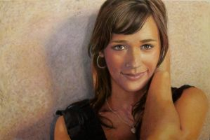 Rashida Jones Portrait by CuriousGeorge43545
