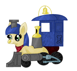 Arttrade with Bronytrainman by GlitzerKirby