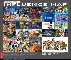 Mastergamer20's Influence Map by mastergamer20