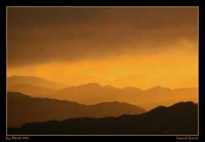 Layered Sunset by Aderet