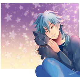 -- Aoba's birthday (+Patreon bonuses) -- by Kurama-chan