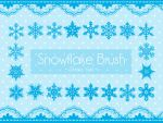 Brush Set III - Snowflakes! by Shiina-Yuki