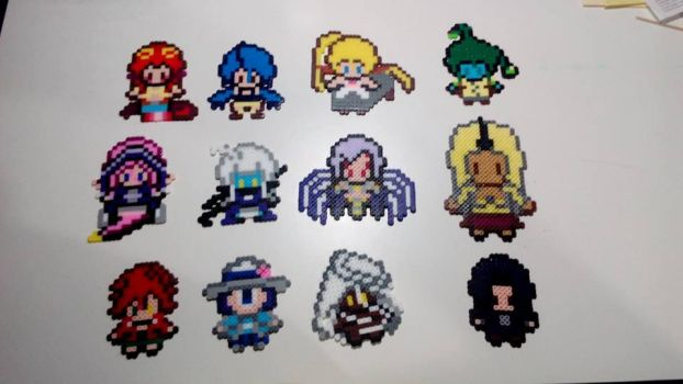 Monster Musume Perlers Beads Figures 2 by Kirbmaster
