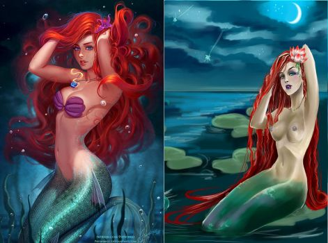 mermaid_by_prywinko combo edit by retroreloads