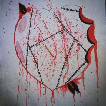 Bleeding Heart by JokerinaQuinn