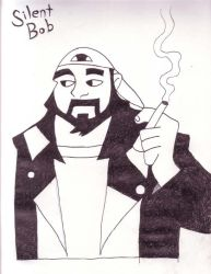 Silent Bob by volrathxp