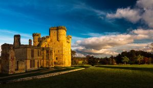 Belsay Castle by newcastlemale
