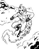 The Rocketeer by Josh-Ulrich