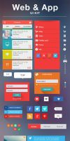 Web and app ui elements by Matylly