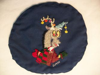 MLP-FIM Hand Embroidered Patch Discord by grandmoonma