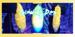 Canine Tail- Blacklight Yellow with White Tip by KikoJaharo