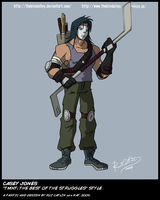 TMNT TBOTS Casey Jones Color by theblindalley