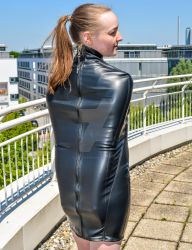 Is it a dress or an armbinder? - 2 by Captivekink