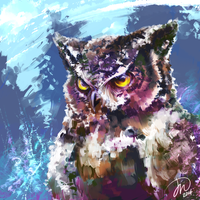 Realism Practice - Owlie by Cryxin