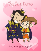 DW - 2011 Valentine 01 by cutepiku