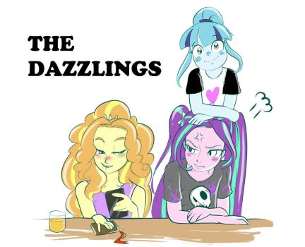 Regular Dazzlings by AmazingPuffhair