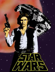 Han Solo by xpiratequeenx