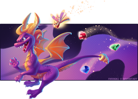 Spyro Time! by Firequill