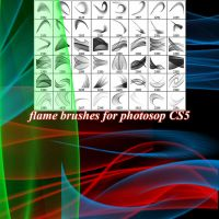 Flame Brushes by roula33