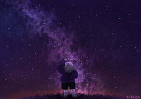 the stars are falling somewhere else by KisTithen